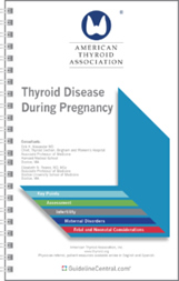 Thyroid Disease During Pregnancy Pocket Guide