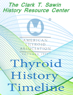 Thyroid History Timeline