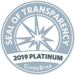 2019 Platinum Seal of Transparency Guide Star