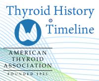 Thyroid History Timeline