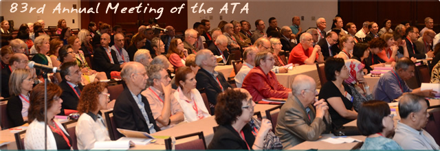 83rd Annual meeting of the ATA