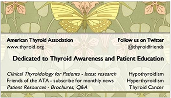 Dedicated to Thyroid Awareness and Patient Education
