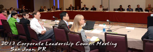 Corporate Leadership Council 2013