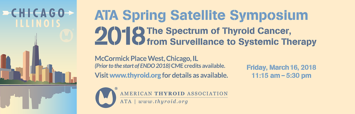 2018 ATA Spring Satellite Symposium