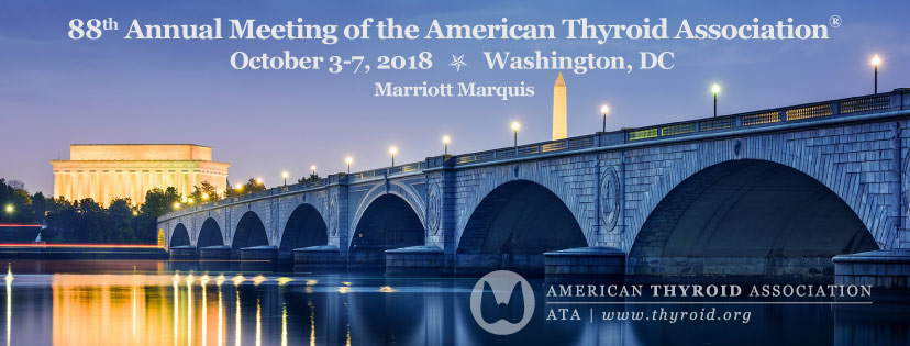 88th Annual Meeting of the American Thyroid Association