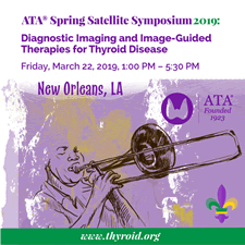 2019 Spring Satellite symposium