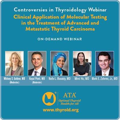 Image of Controversies in Thyroidology: Clinical Application of Molecular Testi