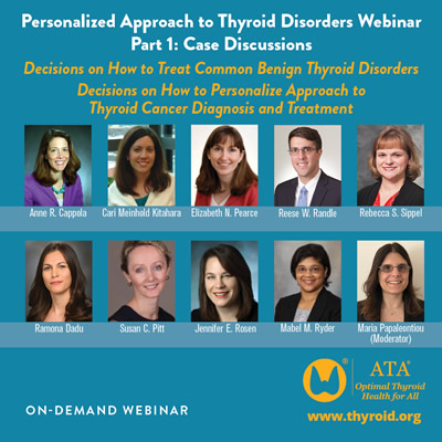 Personalized Approach to Thyroid Disorders Part 1