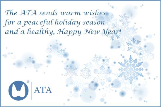 Happy Holidays from the ATA