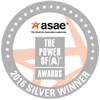 2016 ASAE Power of A Silver Award