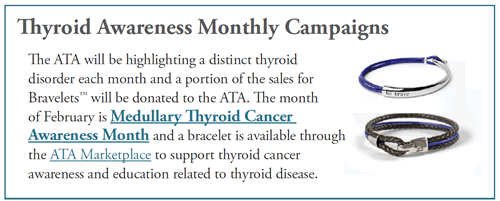 March is Medullary Thyroid Cancer Awareness Month