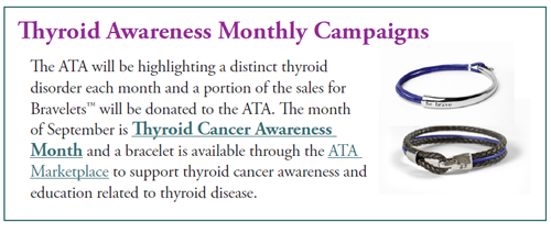 Thyroid Monthly Awareness Campaigns