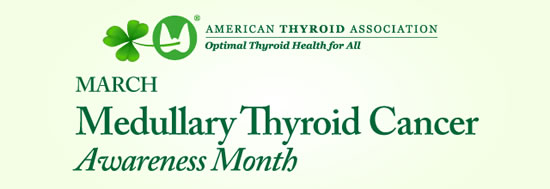 March is Hypothyroidism Awareness Month