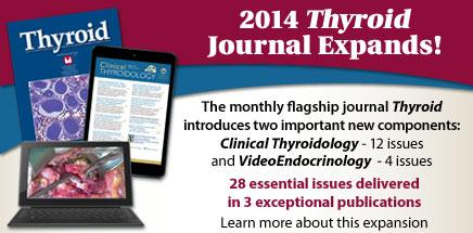 2014 Thyroid Journal Expands