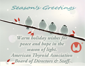The ata wishes you a happy holiday season american thyroid association thyroid news information m4hsunfo