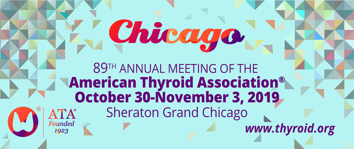 89th Annual Meeting of the American Thyroid Association
