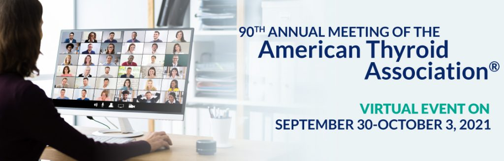 This image shows that the 90th ATA annual meeting will be virtual and held on September 30 to October 3 2021.