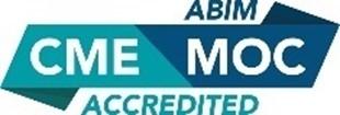 ABIM CME/MOC Accredited Program Logo